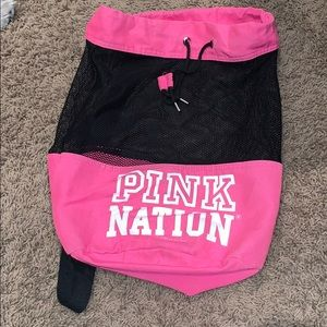Pink Nation Gym bag
